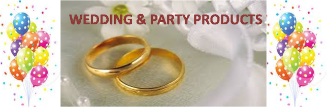 WEDDING & PARTY FRONT COVER