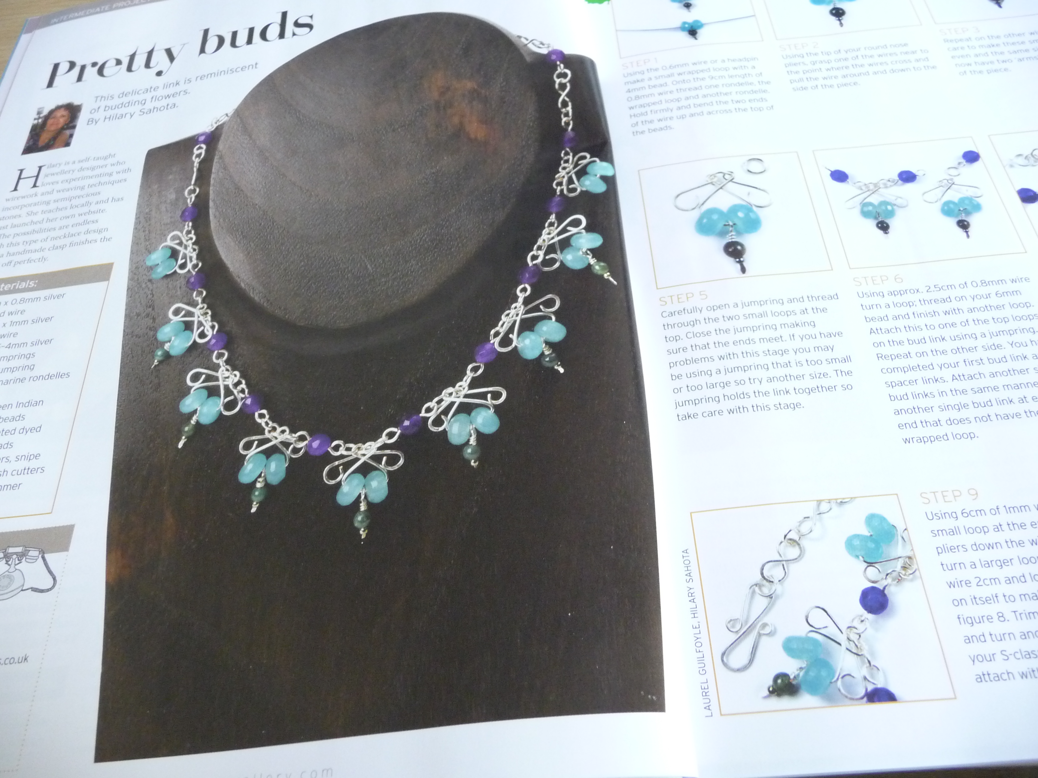 Making Jewellery Issue 41   The Crafty Network