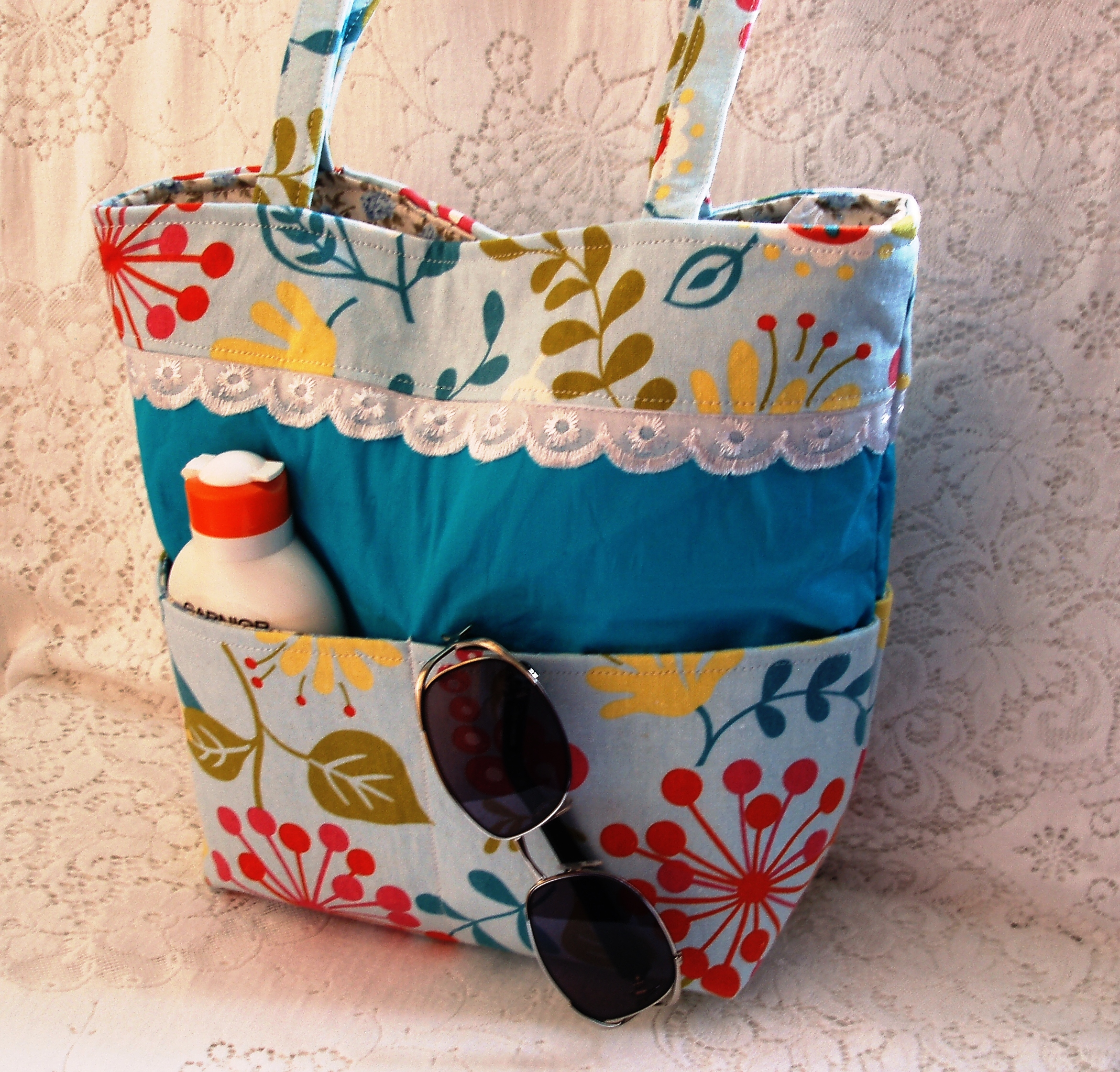 Handmade Beach Bag | The Crafty Network