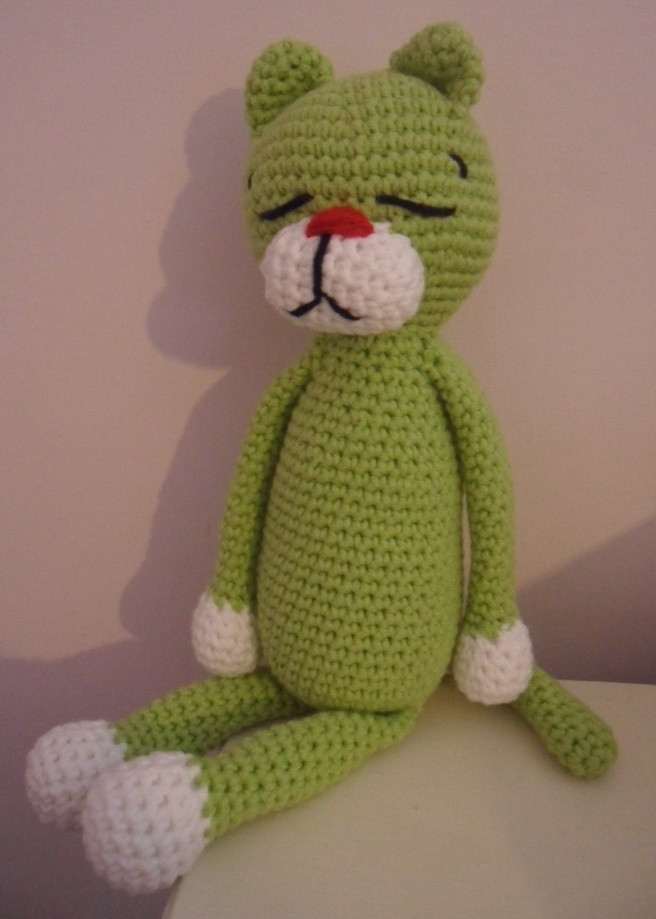 Amineko Cat Free Crochet Pattern (With images) | Crochet cat ... | 919x656
