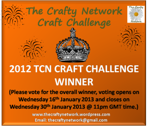 2012 CRAFT CHALLENGE OVERALL WINNER COVER