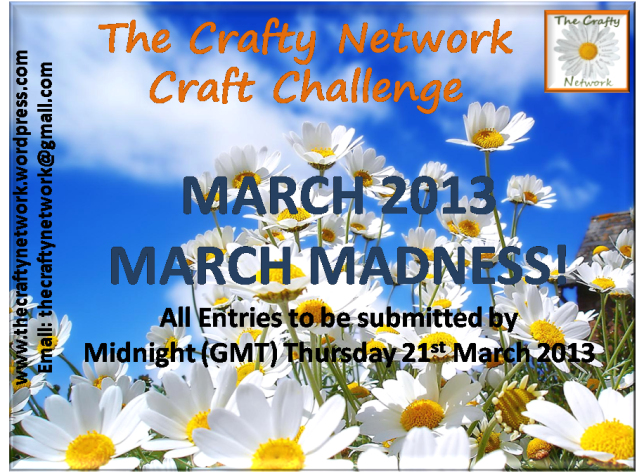 FRONT COVER ~ TCN March Craft Challenge