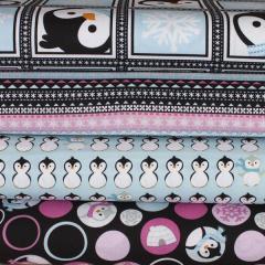 1. Frumble penguin fabric