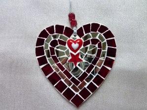 1. Mosaic Mad heart