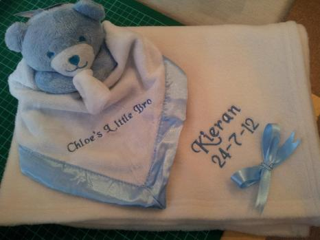 10. Notions of Brechin baby items