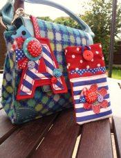 12. Polka bag charm