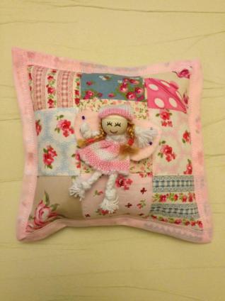 13. Freddies Teddies tooth fairy cushion