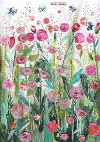 13. Kim Anderson Artist & Illustrator Rose Garden