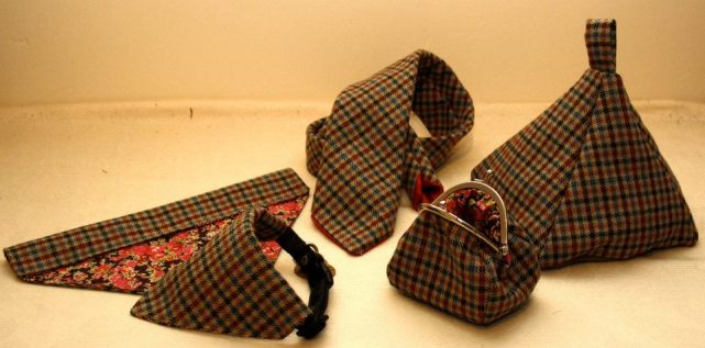 14. Celery Crafts tweed collection