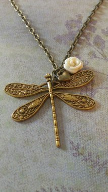 15. Favour it Designs by Jo dragonfly necklace