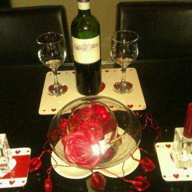 2. Party Pickz valentine theme set up