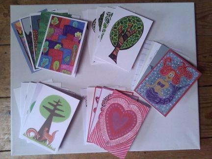 3. Tasha Goddard Illustration greeting cards