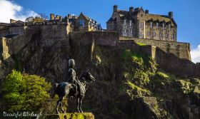 7. Beautiful Edinburgh Royal Scots Grey's monument
