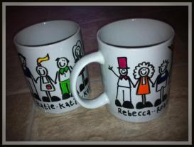 7. Black Shoe mugs