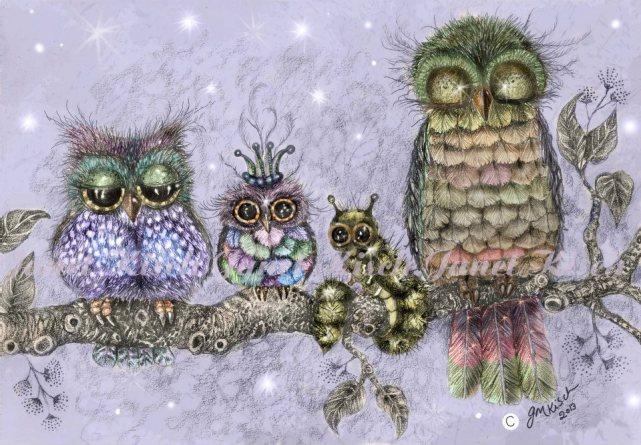 8. Once upon owls and grub
