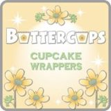 9. Buttercups - Cupcake Wrappers logo