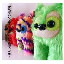 Cute Critters Hand Sewn Creations Growlings