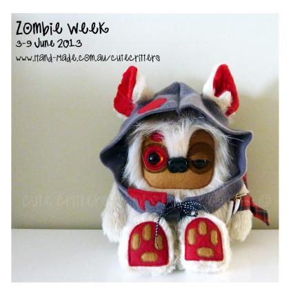 Cute Critters Hand Sewn Creations Zombi Week