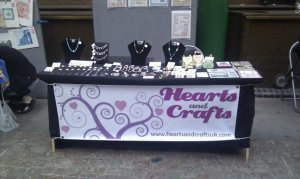 Hearts and Crafts stand