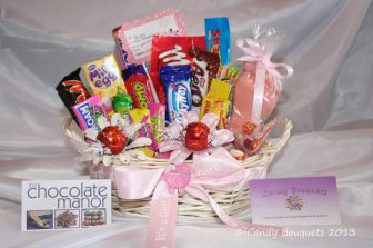ICandy Bouquets baby basket