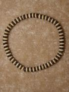 Mens wood bead bracelets