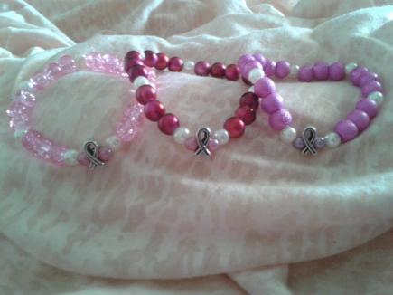 Nearest 'n' Dearest Race for Life Bracelets