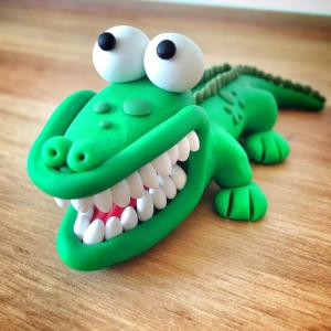 Snappy Crocodile Logo