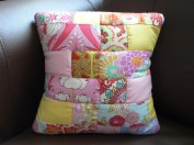 Hand quilted cushion