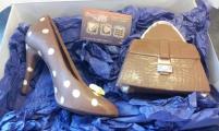 Chocolate Shoe & Bag gift set