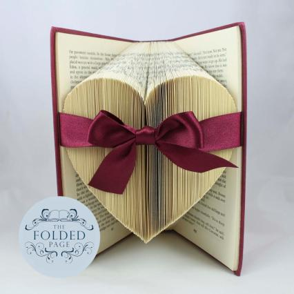 The Folded Page heart