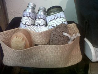 1. The Little Cornish Soap Company gift pamper pack