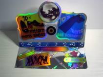 12. Carryn's Crafty Cards music dance films card