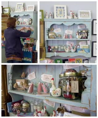 2. Annette Mackie Handmade display