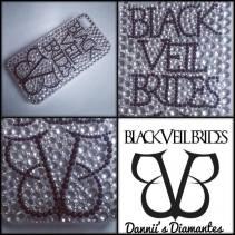 4. Dannii's Diamante's Black Veil Brides case