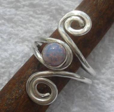 5. Rita Balfour Silver ring