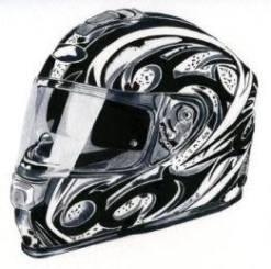 8. Louise Hickman Artworks Helmet