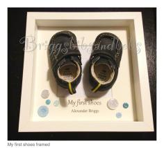 Briggs and Bobs first shoes