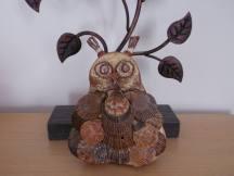 Cerrig Cariad - Love Stones owl