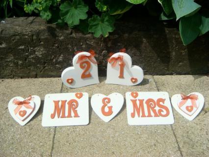 Cobweb Creations Wedding Hearts