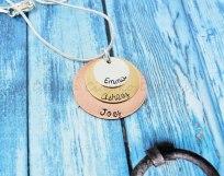 Delena Ciastko Designs name pendants