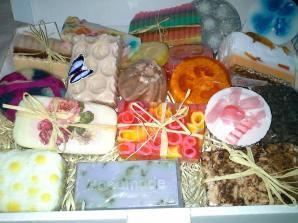 Zora Soap selection of soap