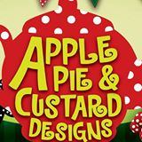 1. Apple Pie and Custard Designs logo