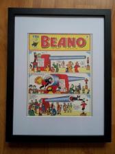 1. Little Wooden Stool framed comic