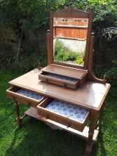 1. Little Wooden Stool framed Say No to flatpack