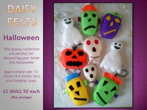 Daisy Felts ~ spooky collection