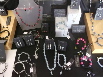 10. Frostflower Jewellery Design stall photo