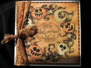 Heidi Made this ~ Halloween card