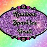 12. Rainbow Sparkles Crafts logo