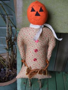 The Blueberry Patch ~ Halloween Mrs Pumpkin