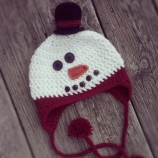 15. Unraveled mess toddlers snowman hat